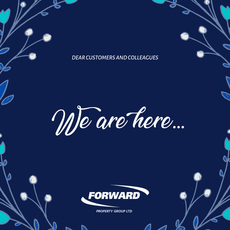 Forward Property Group – Support for Tenants and Customers